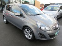 USED 2013 13 VAUXHALL CORSA 1.2 SXI AC 5d 83 BHP **CALL 01543 379066 FOR MORE INFO**