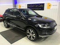 USED 2017 66 VOLKSWAGEN TOUAREG 3.0 V6 R-LINE TDI BLUEMOTION TECHNOLOGY 5d AUTO 259 BHP