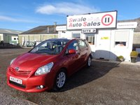 USED 2012 62 TOYOTA VERSO 2.0 T SPIRIT D-4D 5d 125 BHP 7 SEATER £40 PER WEEK, NO DEPOSIT - SEE FINANCE LINK