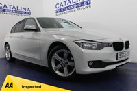 USED 2013 63 BMW 3 SERIES 2.0 318D SE 4d AUTO 141 BHP 4 BMW SERVICE STAMPS - 2 OWNERS - AUTOMATIC - I-DRIVE - BLUETOOTH