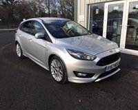 USED 2017 67 FORD FOCUS 1.0 ST-LINE NAVIGATOR ECOBOOST 125 BHP THIS VEHICLE IS AT SITE 1 - TO VIEW CALL US ON 01903 892224