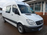 USED 2012 12 MERCEDES-BENZ SPRINTER 316 CDI MWB WELFARE, 160 BHP [EURO 5]