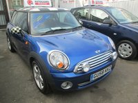 2008 MINI HATCH COOPER 1.6 COOPER 3d 118 BHP £3695.00