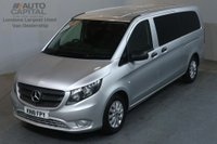 USED 2018 18 MERCEDES-BENZ VITO 2.1 114 BLUETEC TOURER SELECT 136 BHP EXTRA LWB EURO 6 AIR CON 9 SEATER AIR CONDITIONING NEW 18 PLATE