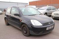 2003 FORD FIESTA 1.2 LX 16V 3d 74 BHP £290.00