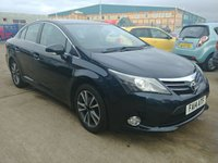 USED 2014 14 TOYOTA AVENSIS 2.0 D-4D ICON 4d 124 BHP Full Service History | Satellite Navigation | Cruise Control | £30 Tax | MOT | Service | Warranty | Finance