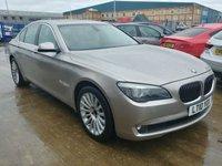 USED 2010 10 BMW 7 SERIES 3.0 730D SE 4d AUTO 242 BHP MOT SERVICE WARRANTY