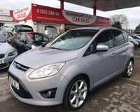2012 FORD C-MAX 1.6 TITANIUM 5d 123 BHP *NEWER SHAPE* £5995.00