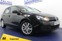 USED 2012 61 VOLKSWAGEN GOLF 1.6 MATCH TDI BLUEMOTION TECHNOLOGY 5d 103 BHP 7 VW STAMPS - LOW MILES - FRONT AND REAR PARKING SENSORS - DAB RADIO - BLUETOOTH
