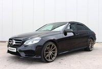 USED 2013 63 MERCEDES-BENZ E-CLASS 2.1 E220 CDI AMG SPORT 4d AUTO 168 BHP