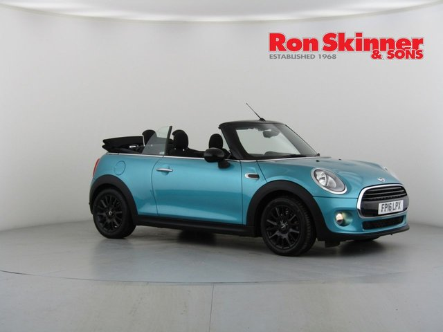 View our 2016 16 MINI CONVERTIBLE 1.5 COOPER D 2d 114 BHP