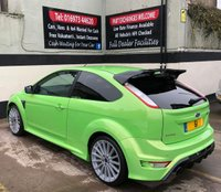USED 2011 61 FORD FOCUS RS 2.5T 3DR 300 BHP, RARE 1 OWNER 61 PLATE MK2 RS STANDARD & LOW MILEAGE WITH FULL FORD SERVICE HISTORY