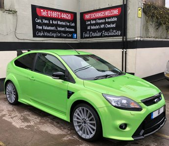 2011 FORD FOCUS RS 2.5T 3DR 300 BHP, RARE 1 OWNER 61 PLATE MK2 RS £31995.00