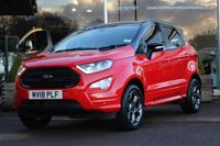 2018 FORD ECOSPORT 1.0 ST-LINE 5d AUTO 124 BHP £19995.00