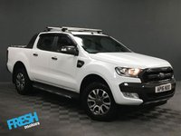 USED 2016 16 FORD RANGER 3.2 WILDTRAK 4X4 DCB TDCI AUTO * 0% Deposit Finance Available