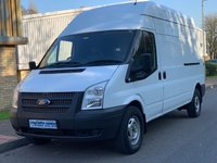 2013 FORD TRANSIT 2.2 FWD 350 LWB HIGH ROOF 100 BHP 6 SPEED £6495.00