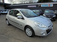 USED 2009 59 RENAULT CLIO 1.1 EXPRESSION 16V 5d 74 BHP