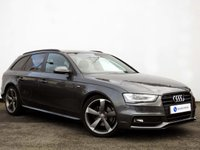 USED 2012 12 AUDI A4 2.0 AVANT TDI S LINE BLACK EDITION 5d 141 BHP BLACK EDITION with SATELLITE NAVIGATION......BEAUTIFUL EXAMPLE......