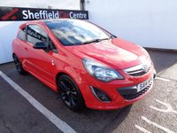 USED 2014 14 VAUXHALL CORSA 1.2 LIMITED EDITION 3d 83 BHP £145 A MONTH AIR CONDITIONING CRUISE CONTROL PRIVACY GLASS ELECTRIC WINDOWS ALLOY WHEELS