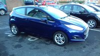 USED 2015 65 FORD FIESTA 1.2 ZETEC 3d 81 BHP ONLY 7994 MILES FROM NEW,  EXCEPTIONALLY CHEAP TO RUN, LOW CO2 EMISSIONS (122G/KM) £120 ROAD TAX,  AND EXCELLENT FUEL ECONOMY! GOOD SPECIFICATION INCLUDING ALLOYS, CENTRAL LOCKING AND AIR CONDITIONING!