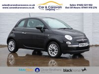 USED 2014 64 FIAT 500 1.2 LOUNGE 3d 69 BHP Dealer History Bluetooth A/C Buy Now, Pay Later Finance!