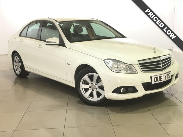 View our 2011 61 MERCEDES-BENZ C CLASS 2.1 C220 CDI BLUEEFFICIENCY SE EDITION 125 4d 170 BHP