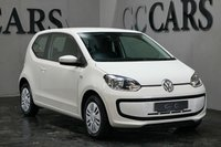 USED 2014 14 VOLKSWAGEN UP 1.0 MOVE UP 3d 59 BHP THREE VW STAMPS AIR CONDITIONING PIANO BLACK FASCIA RADIO CD WITH AUX IN CONNECTION AN IDEAL FIRST CAR WITH LEGENDARY VW RELIABILITY AND SUPER LOW RUNNING COSTS