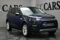 USED 2015 65 LAND ROVER DISCOVERY SPORT 2.0 TD4 HSE 5d AUTO 180 BHP BIG SPEC PAN ROOF SAT NAV REVERSE CAMERA BLACK HEATED ELECTRIC SEATS FULL SERVICE HISTORY EXCELENT CONDITION THROIGHOUT