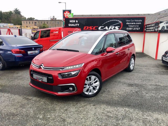 2017 CITROEN C4 GRAND PICASSO 1.6 BLUEHDI FLAIR S/S 5d 118 BHP