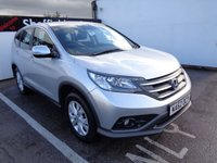 USED 2012 62 HONDA CR-V 2.2 I-DTEC SE 5d 148 BHP £226 A MONTH CRUISE CONTROL ALL WHEEL DRIVE BLUETOOTH HEATED WINDSCREEN CLIMATE CONTROL CENTRAL LOCKING ELECTRIC WINDOWS