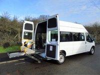 2008 FORD TRANSIT T350 2.4TDCI 100BHP LWB DISABLED PASSENGER MINI BUS (STANFORD CONV) £SOLD