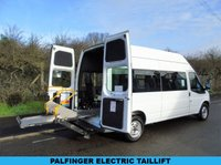 2008 FORD TRANSIT T350 2.4TDCI 100BHP LWB DISABLED PASSENGER MINI BUS (STANFORD CONV) £5995.00