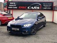 2015 BMW 5 SERIES 2.0 520D M SPORT 4d AUTO 188 BHP £SOLD