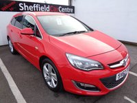 USED 2012 62 VAUXHALL ASTRA 2.0 SRI CDTI S/S 5d 163 BHP £156  A MONTH CRUISE CONTROL ELECTRIC WINDOWS AND MIRRORS POPULAR SOUGHT AFTER ESTATE LOW MILEAGE SUPPLIED WITH SERVICE AND MOT
