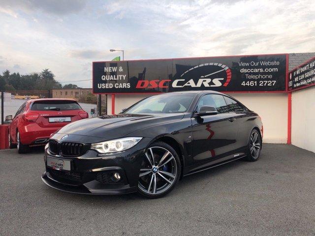 2017 BMW 4 SERIES 2.0 420D M SPORT 2d AUTO 188 BHP