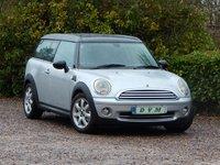 2009 MINI CLUBMAN 1.6 COOPER 5d 118 BHP £4470.00