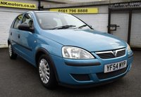 USED 2004 54 VAUXHALL CORSA 1.0 LIFE 12V TWINPORT 5d 60 BHP * LOW TAX - LOW INSURANCE *