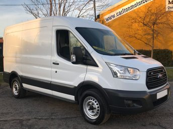 2015 FORD TRANSIT 2.2 350 TDCi 155ps L2H2 Mwb [ Euro-6 ] A/C Medium Roof Van RWD  £10950.00