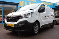2015 RENAULT TRAFIC 1.6 DCI LL29 BUSINESS 115 BHP LWB LOW ROOF VAN £8795.00