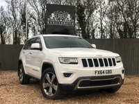 2014 JEEP GRAND CHEROKEE 3.0 V6 CRD LIMITED PLUS 5dr AUTO £16499.00