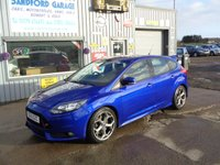USED 2013 13 FORD FOCUS 2.0 ST-2 5d 247 BHP 55K Full Service History ONLY 55K