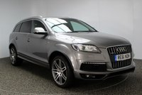 USED 2011 61 AUDI Q7 3.0 TDI QUATTRO S LINE 5DR AUTO 245 BHP SAT NAV 7 SEATS FULL SERVICE HISTORY FULL SERVICE HISTORY + HEATED LEATHER SEATS + SATELLITE NAVIGATION + 7 SEATS + PARKING SENSOR + BLUETOOTH + CRUISE CONTROL + CLIMATE CONTROL + PRIVACY GLASS + 21 INCH ALLOY WHEELS