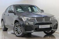 2016 BMW X4 3.0 XDRIVE30D M SPORT 4d AUTO 255 BHP £25990.00