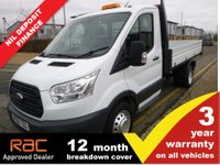 USED 2016 66 FORD TRANSIT TIPPER 350 L2 RWD DRW 1-Stop 125ps