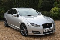 USED 2015 15 JAGUAR XF 2.2 D R-SPORT 4d AUTO 200 BHP SO WELL CARED FOR THE ORIGINAL LABELS AND DOOR SILL COVERS ARE ON THE CAR !!