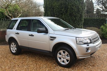 2014 LAND ROVER FREELANDER 2.2 TD4 GS 5d 150 BHP £8992.00