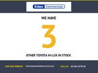 USED 2017 17 TOYOTA HI-LUX 2.4 INVINCIBLE 4WD D-4D DCB 1d AUTO 148 BHP * 3 YEARS WARRANTY * 3.5 ton TOWING CAPACITY *