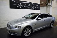 USED 2010 60 JAGUAR XJ 3.0 D V6 PREMIUM LUXURY SWB 4d AUTO 275 BHP LOW MILES - NAV - LEATHER - GLASS PANROOF - PRIVACY - POWERBOOT - CARBON DASH INSERTS
