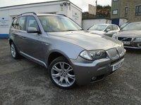 USED 2007 57 BMW X3 3.0 SD M SPORT 5d AUTO 282 BHP
