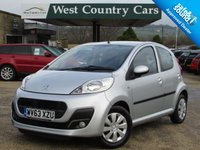 USED 2013 63 PEUGEOT 107 1.0 ACTIVE 5d 68 BHP Reliable Small Hatchback